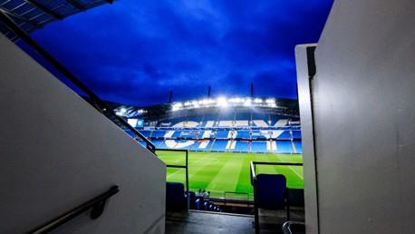 Etihad Stadium.