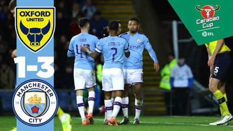 Oxford 1-3 City: Full match replay