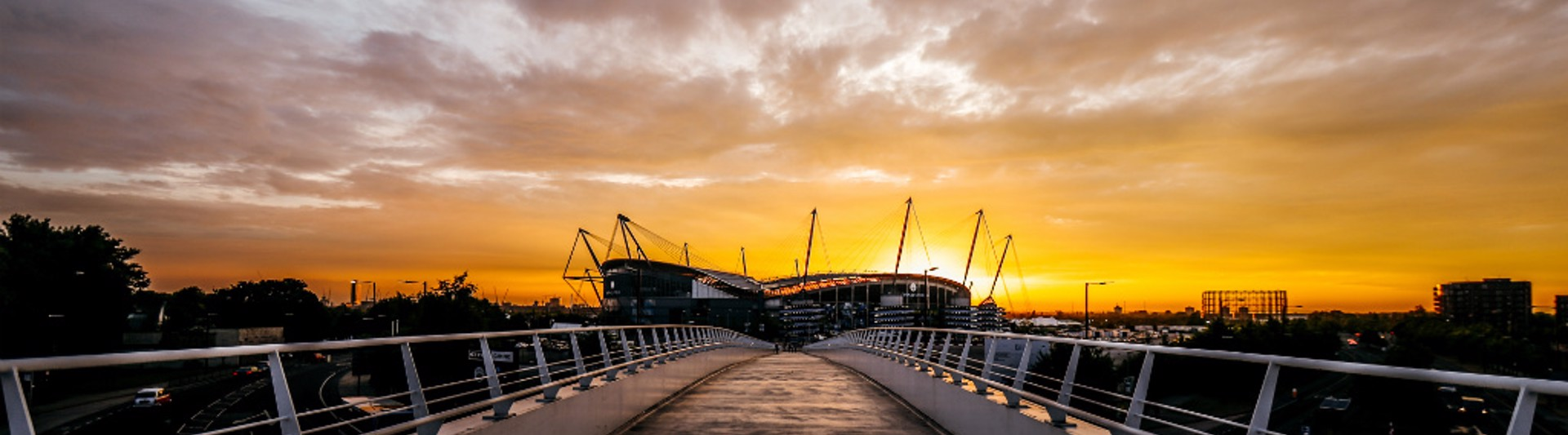BEAUTIFUL: The sun shines on City!