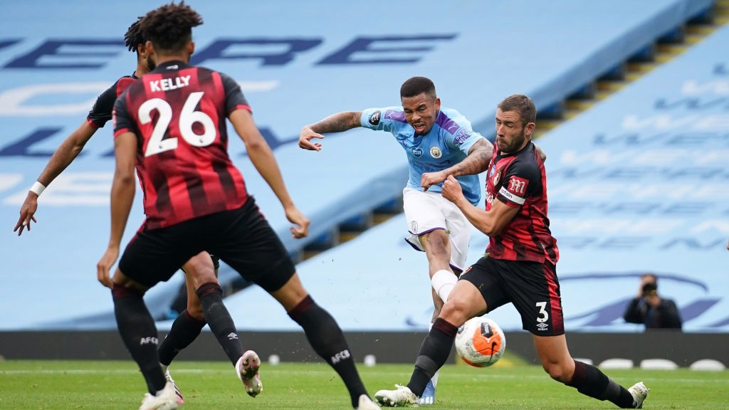 Silva-inspired City down spirited Bournemouth