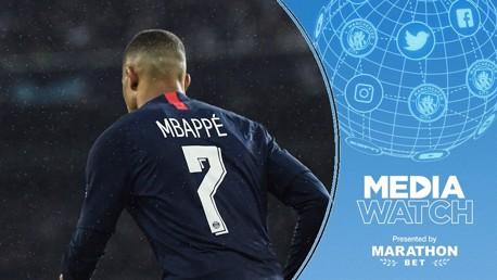 Express: Mbappe & Kane on City's future wish list?