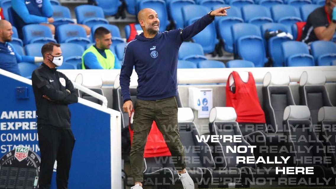 Pep Guardiola: Alas que marcam gols são muito importantes