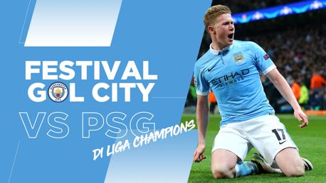 Festival Gol City Melawan PSG di Liga Champions!