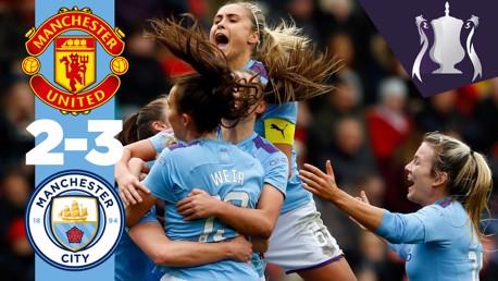 United 2-3 City: Full match replay