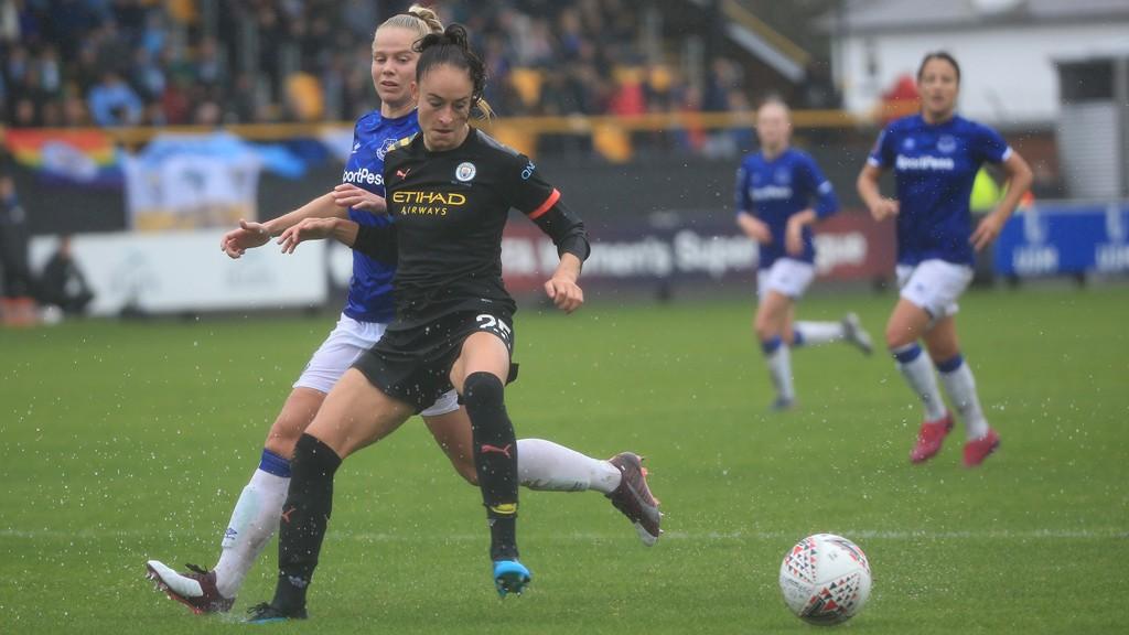 City edge Everton in close FA WSL encounter