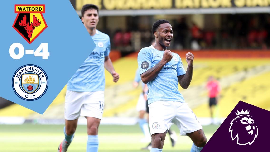 Watford 0-4 City: Ulangan Penuh Pertandingan