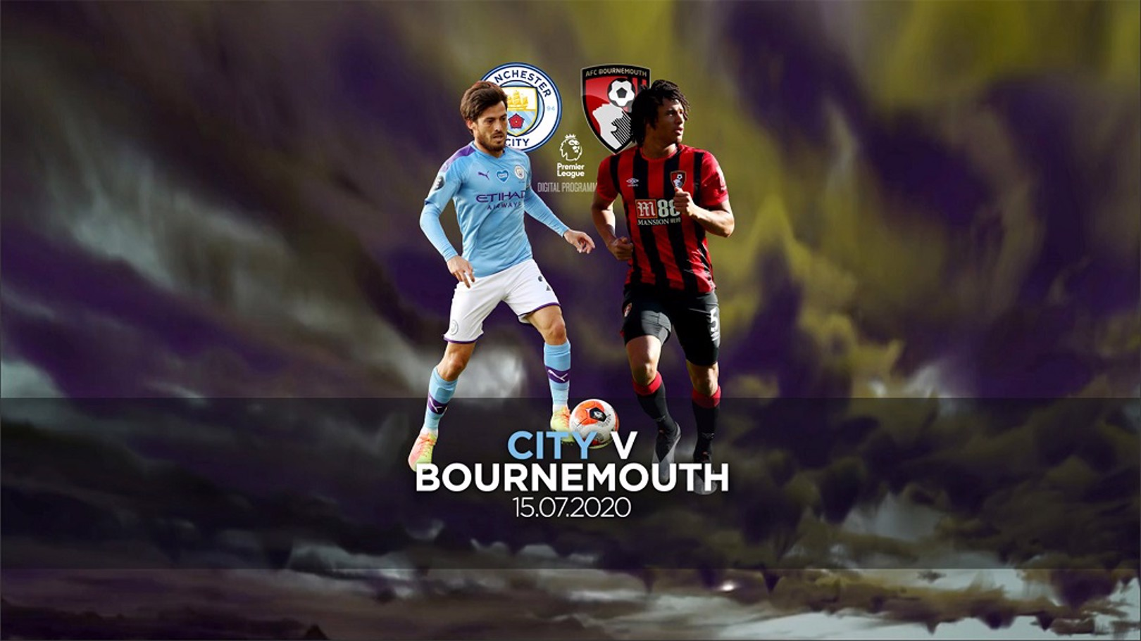 City v Bournemouth FREE digital programme now available!
