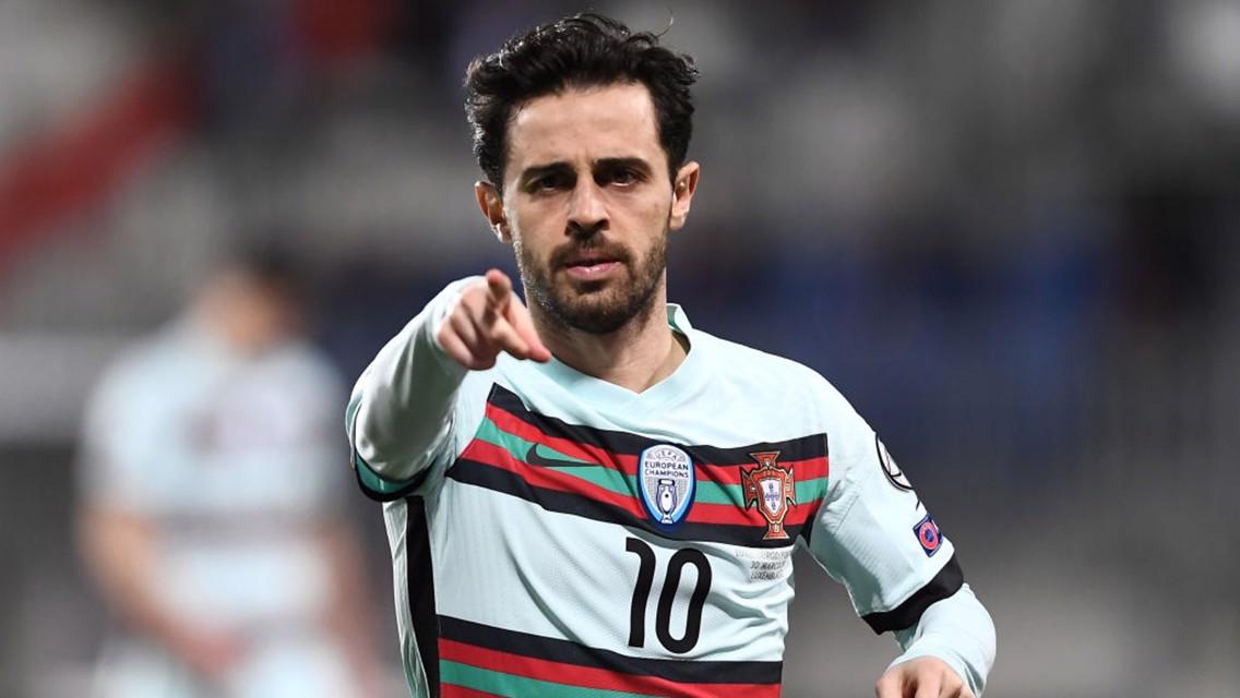 Bernardo sparks Portugal cruise, Mahrez's Algeria held
