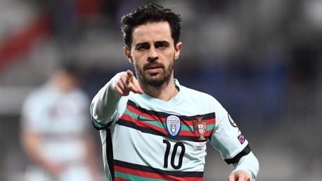 بيرناردو سيلفا يسجل ومحرز يتعادل رفقة الجزائر
