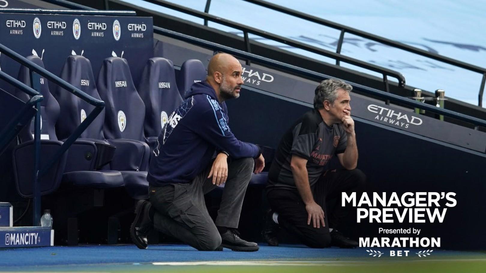 """Pep Guardiola : """"C'est un match important"""""""