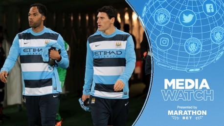 BLUE BOYS: Gareth Barry and Joleon Lescott have praised City's squad ahead of the new season.