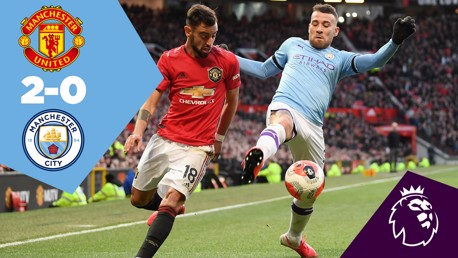 United 2-0 City: Full match replay