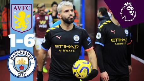 Aston Villa 1-6 Man City: Full match replay