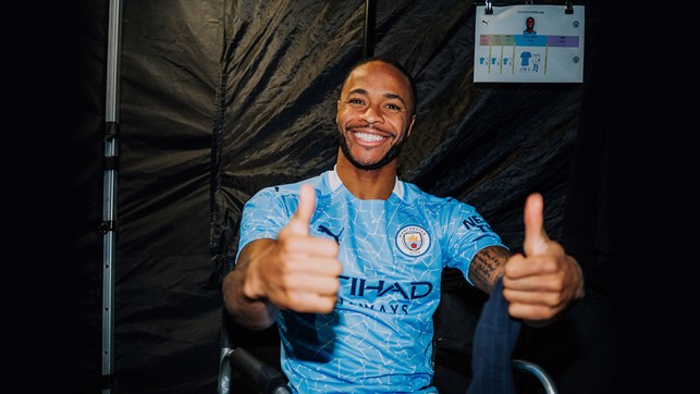 Thumbs up from Raheem...