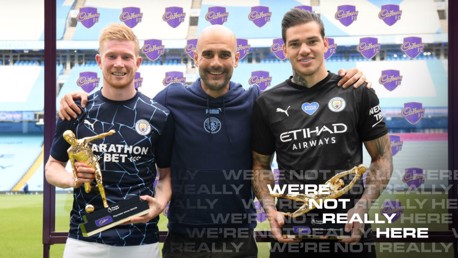 Guardiola salute to City's prize guys