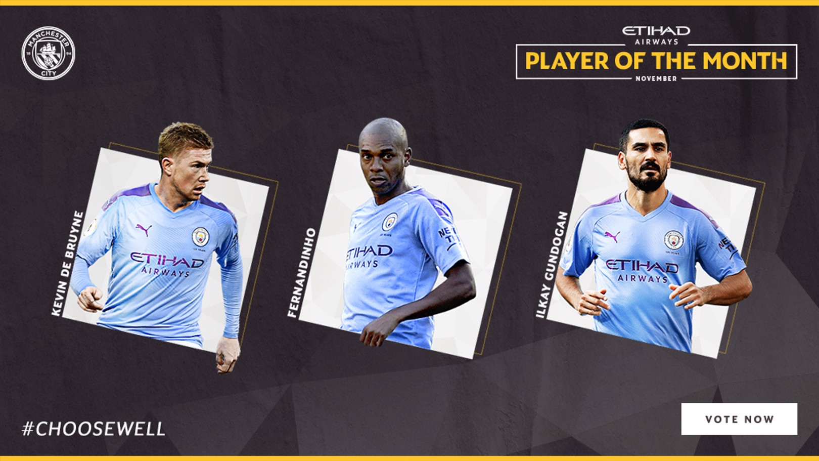 POTM VOTE: Fans can vote for the November Player of the Month