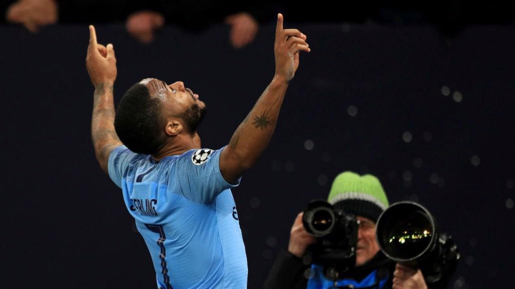 RAHEEM. Sterling celebra el gol de la victoria.