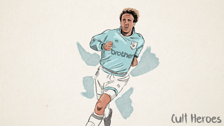 The German Italian who lit up Maine Road
