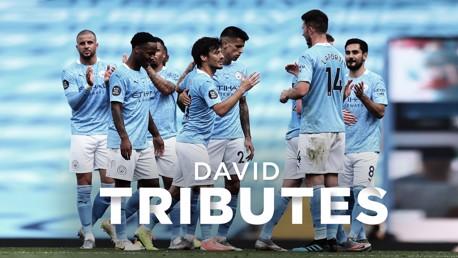 David Silva | L'hommage des joueurs à  El Mago