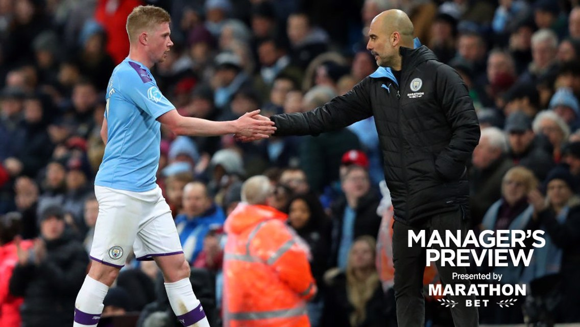 Guardiola hoping De Bruyne returns before Real Madrid clash