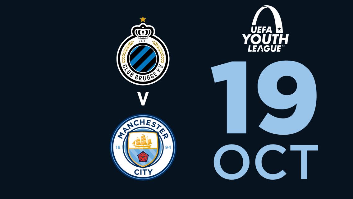WATCH LIVE: UEFA Youth League - Club Brugge v City