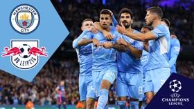 City v RB Leipzig: Full-match replay
