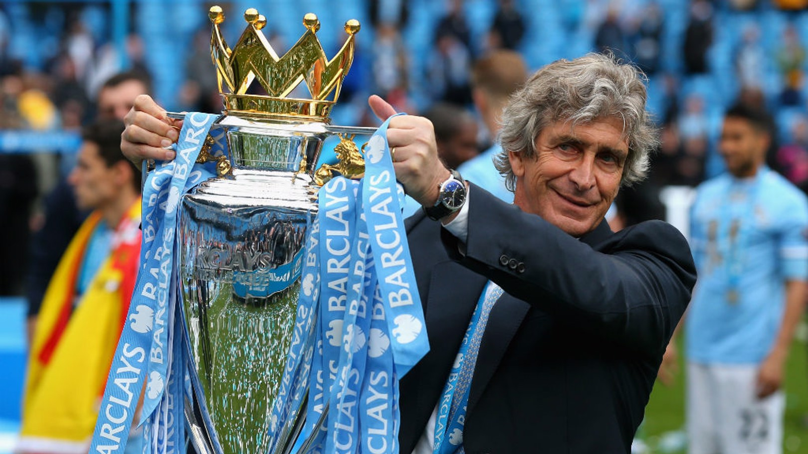 PELLEGRINI'S CITY 2013/14: Goals galore and silverware.
