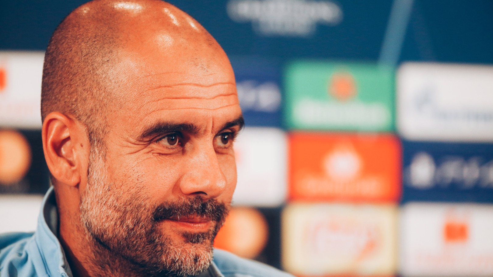 PRESS CONFERENCE: Pep Guardiola addresses the media, ahead of the game...