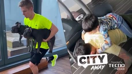 CITY AWAY #5 | 반려견들과 함께 훈련하는 진첸코