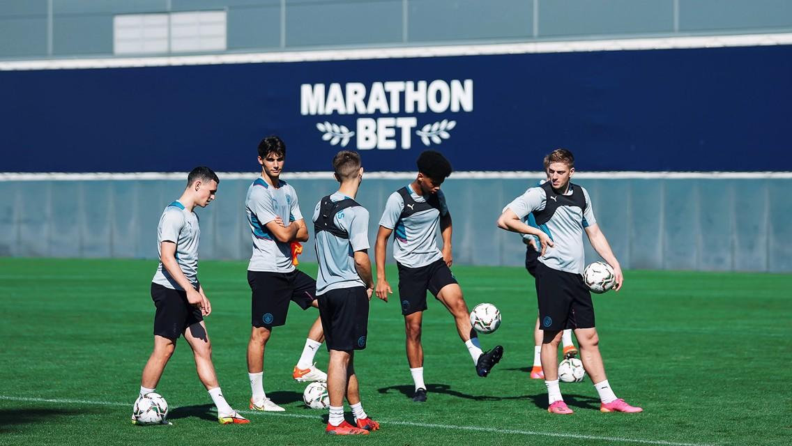 Sesi Latihan: City siap untuk Piala Carabao!
