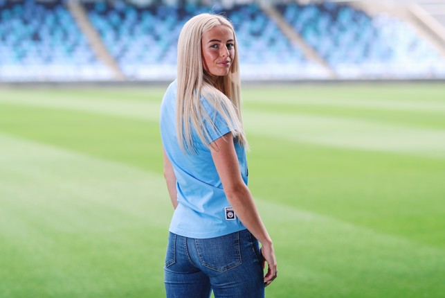 TARGET : The striker has set her sights on scoring more Goal of the Season contenders