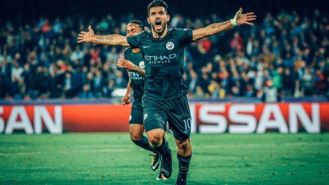 HISTORY MAKER : The moment Sergio Aguero became the Club's all-time leading scorer.