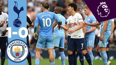 Spurs 1-0 City: resumen breve