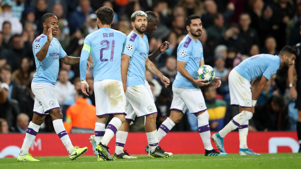 THAT'S A WRAP : City beat Dinamo Zagreb 2-0 with goals from Raheem Sterling and Phil Foden