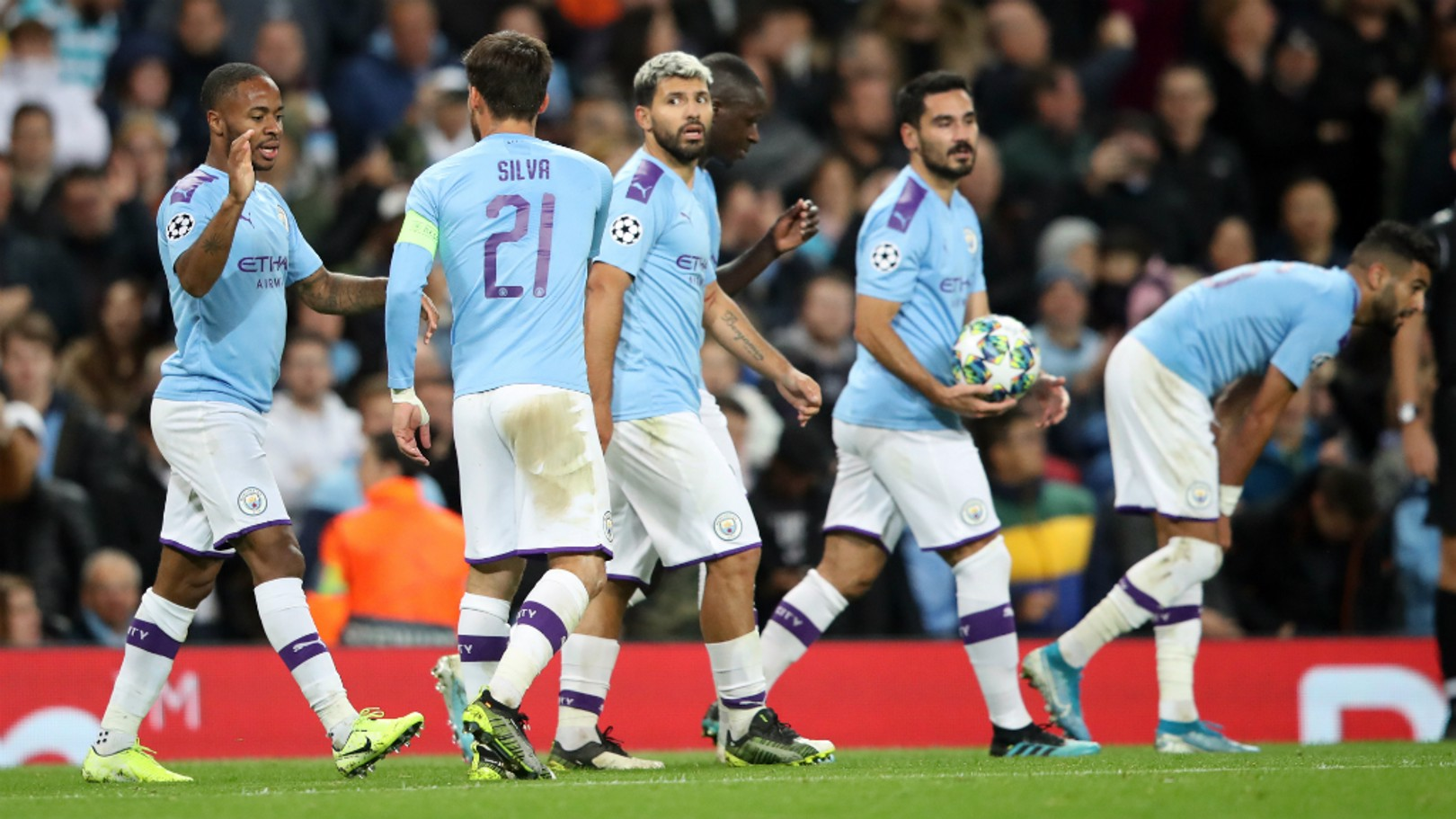 THAT'S A WRAP: City beat Dinamo Zagreb 2-0 with goals from Raheem Sterling and Phil Foden