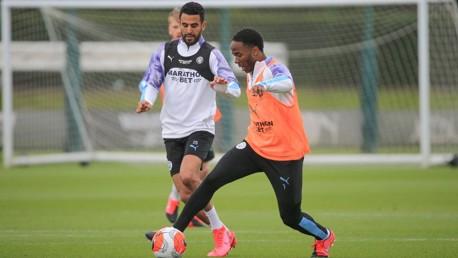 Mahrez and Sterling reach City milestones
