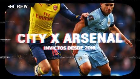 City - Arsenal: invictos desde 2016