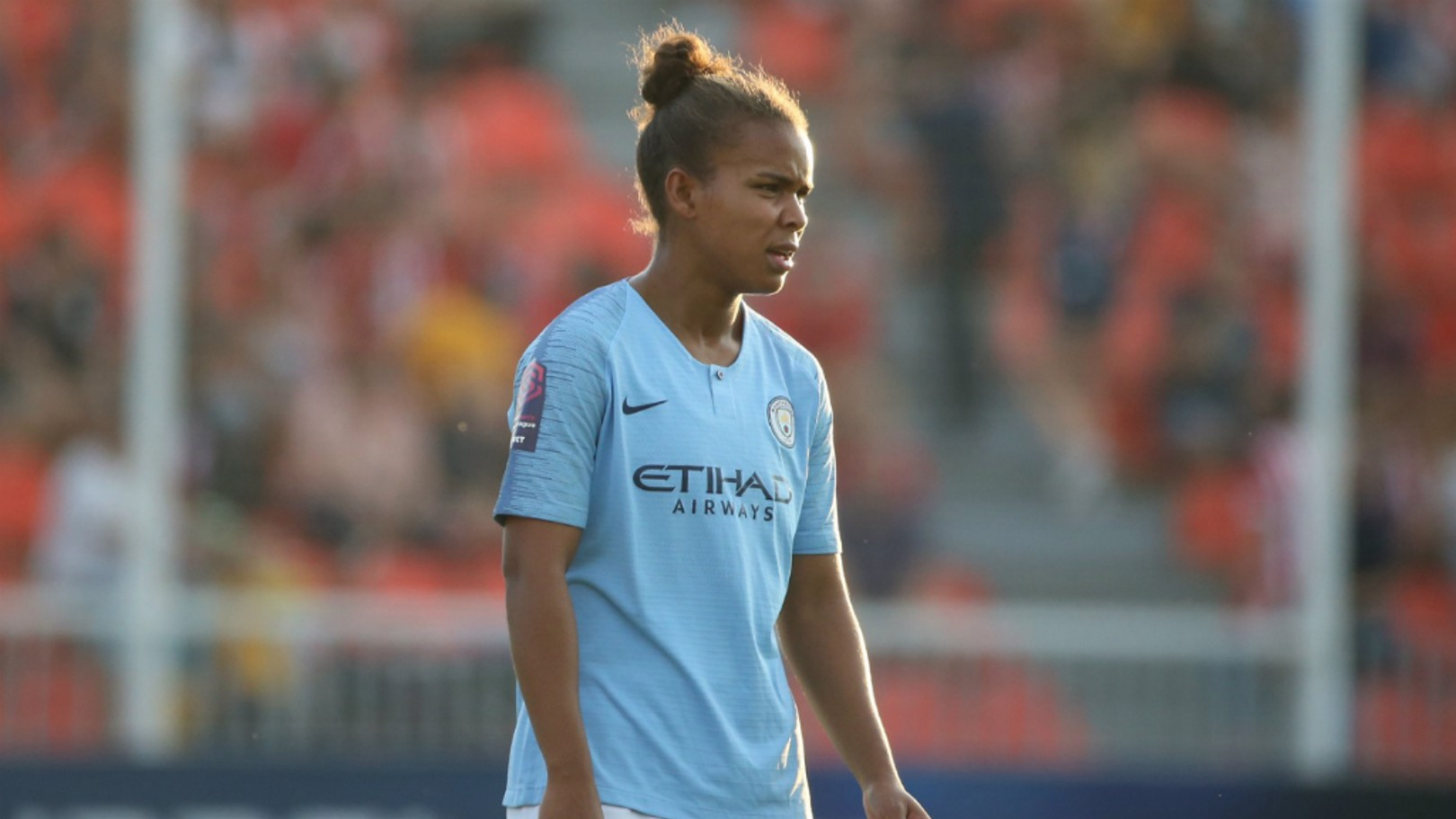 CENTURION: Nikita Parris made her 100th appearance for the Club against Atletico Madrid