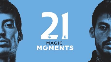 David Silva: 21 moments magiques