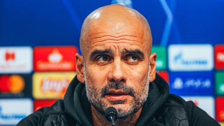 PREVIEW: Pep Guardiola speaks to the media ahead of Dinamo Zagreb.