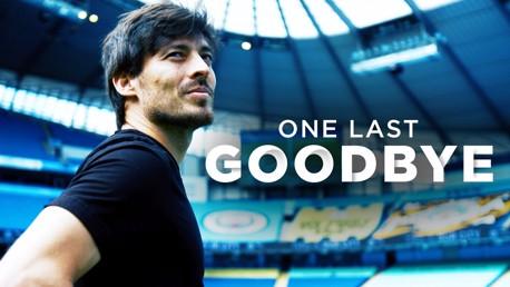 Watch David Silva's goodbye to the Etihad Stadium