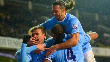 Classic Highlights: Spurs 1-5 City 2014