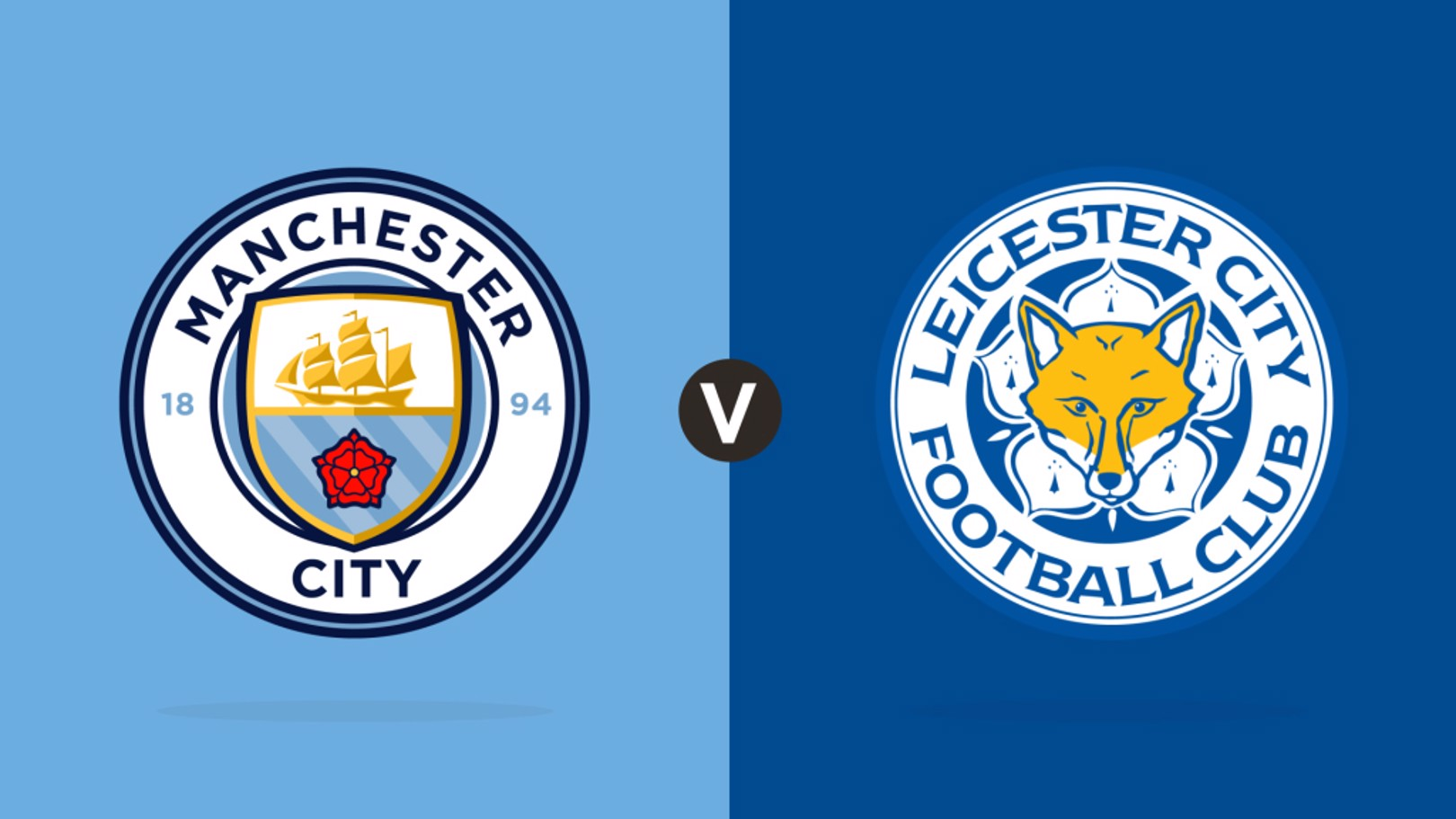 Man City v Leicester City Match centre