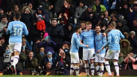 Highlights: City 2-0 West Ham