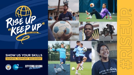 Rise Up, Keep Up Challenge: Show us your skills