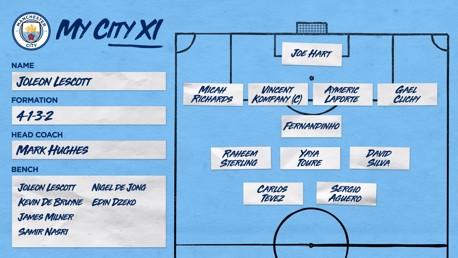 My City XI: Joleon Lescott