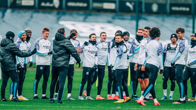 SQUAD GOALS : Training tips as Saturday's session gets underway