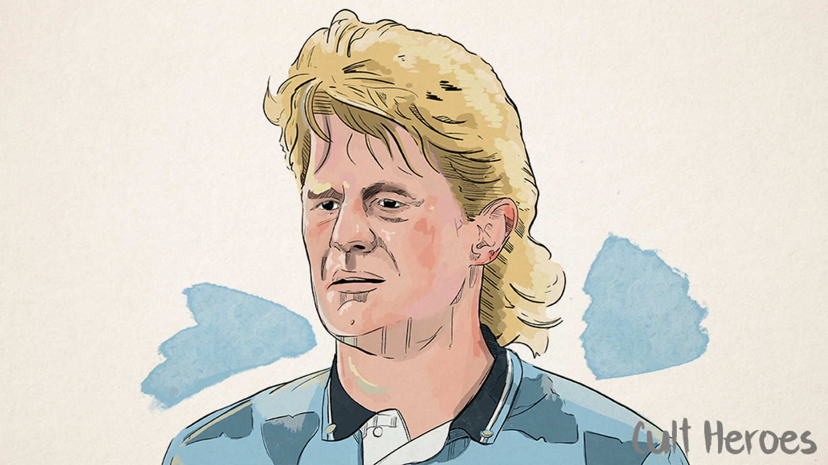 The swashbuckling centre-back: Colin Hendry