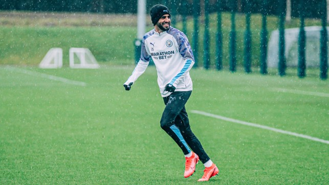 MAGICAL MAHREZ: Riyad gets ready for Villa!