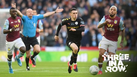 TOUCH OF CLASS: Foden was superb throughout